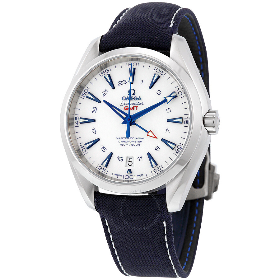 Omega Seamaster White Dial Automatic Mens Watch 231.92.43.22.04.001