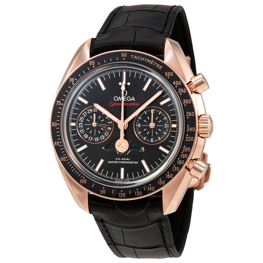 Omega Speedmaster Automatic Black Dial Mens Watch 304.63.44.52.01.001