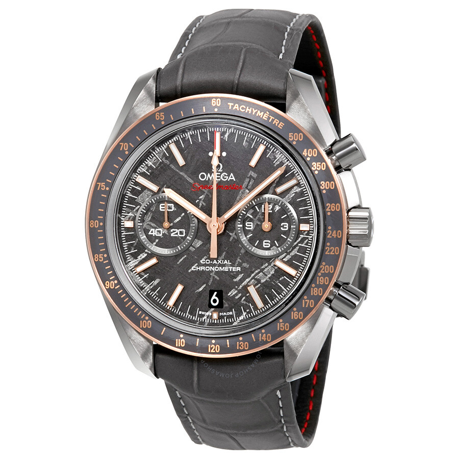 Omega Speedmaster Grey Side of the Moon Meteorite Chronograph 44.25 mm Automatic Mens Watc