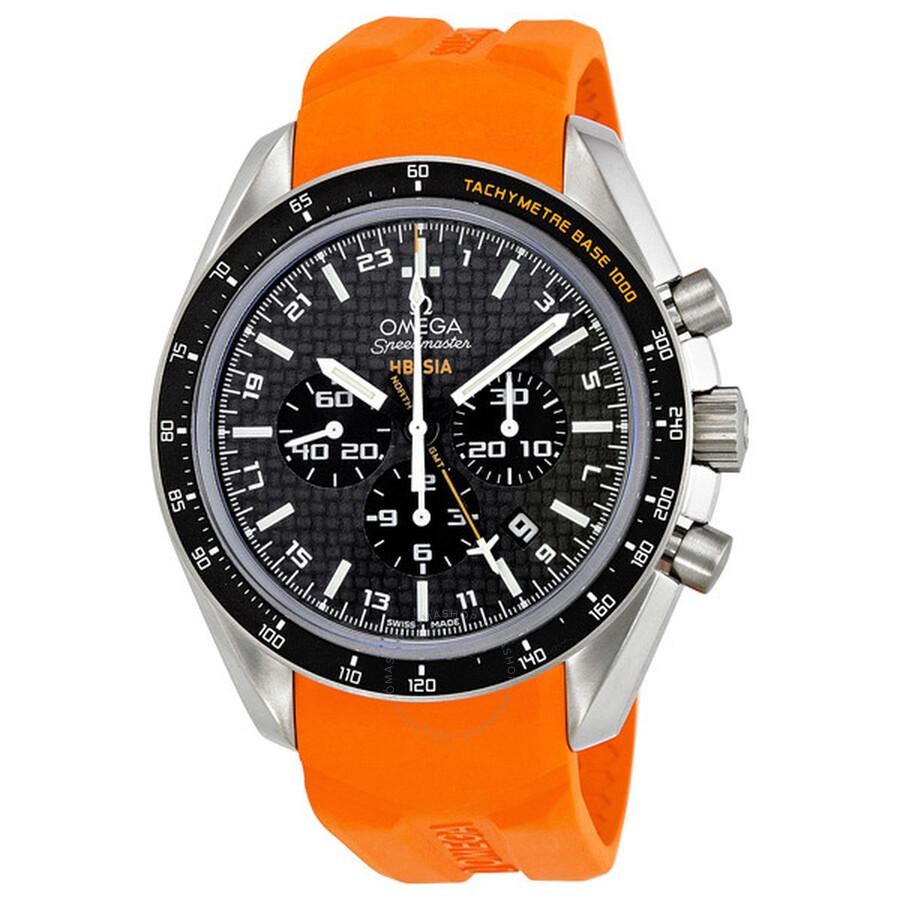 Omega Speedmaster Solar Impulse Chronograph GMT Mens Watch 321.92.44.52.01.003