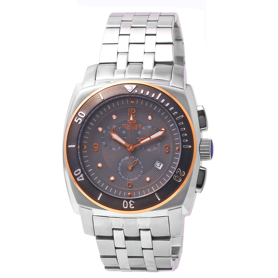 Oniss Grey Dial Multi-function Stainless Steel Mens Watch ON614-M