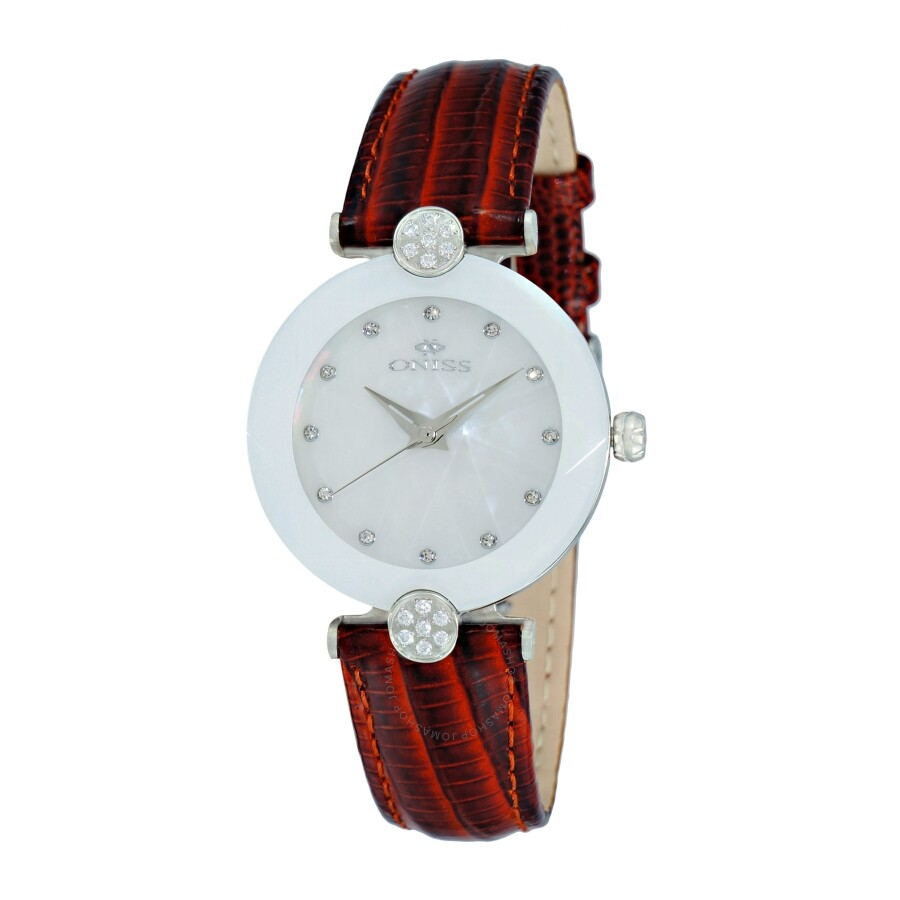 Oniss ON8776MOP White Dial Ladies Watch ONJ8776-0LWT