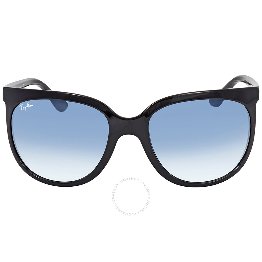open box ray ban cats 1000 blue gradient cat eye ladies. Black Bedroom Furniture Sets. Home Design Ideas