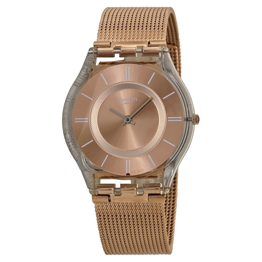 Open Box - Swatch Hello Darling Ladies Watch SFP115M