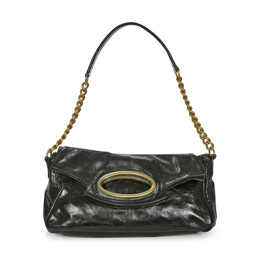 Open Box - Hobo Black Patent Leather Purse HB-01 at Jomashop.com & JomaDeals.com