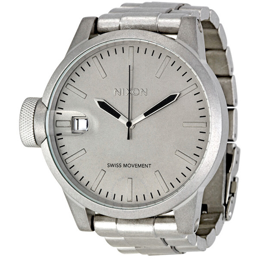 Open Box - Nixon Chronicle Stainless Steel Mens Watch A1981033