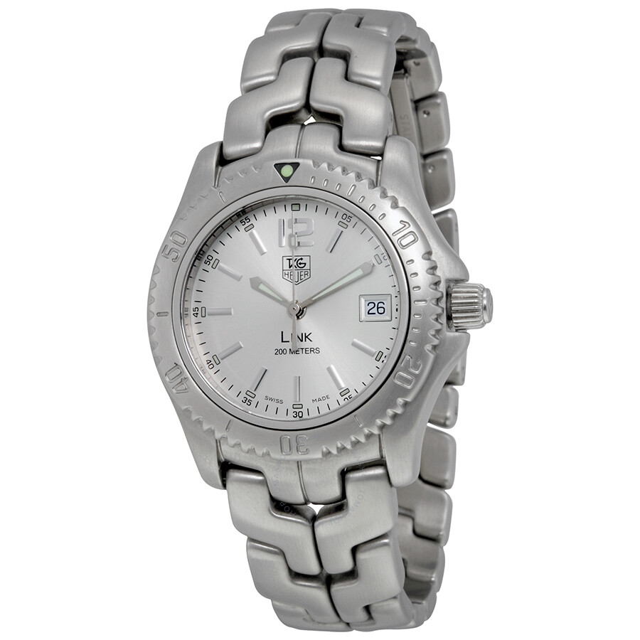 Open Box - Tag Heuer Silver Dial Mens Quartz Watch WT1212BA0553