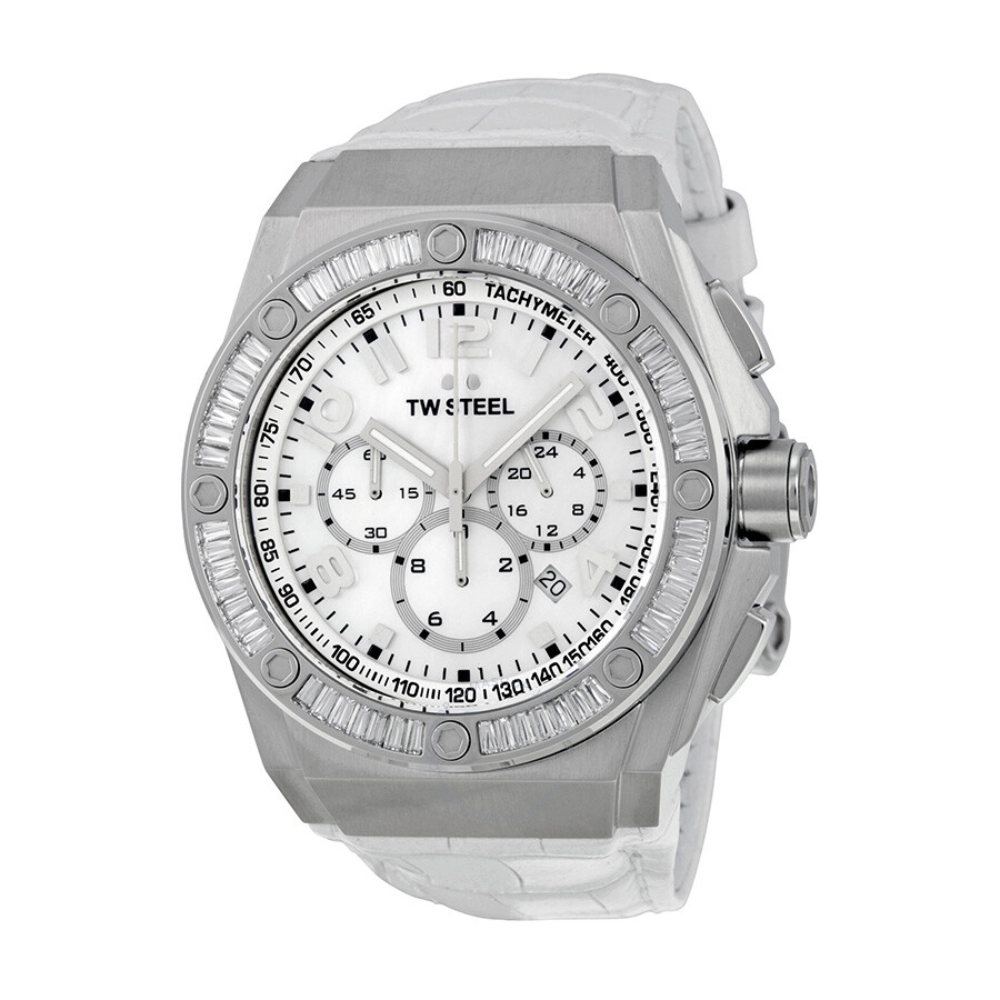 Open Box - TW Steel CEO Tech 44 MM Chronograph Dial nisex Watch CE4015