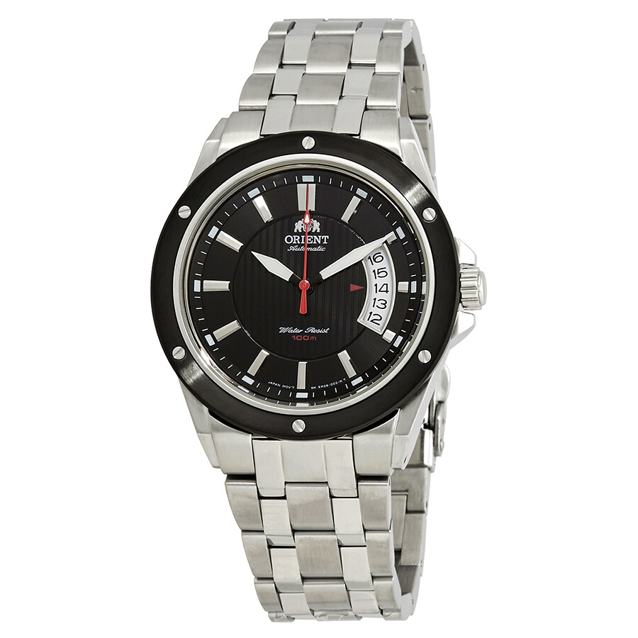 Orient Advancer Automatic Black Dial Mens Watch FER28004B