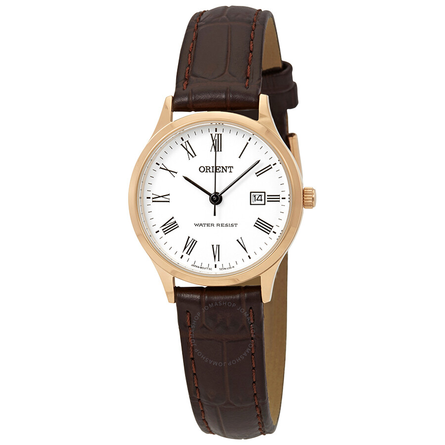 Orient Dressy White Dial Ladies Watch