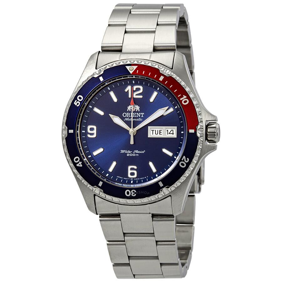 Orient Mako II Automatic Blue Dial Men's Watch FAA02009D9 ...