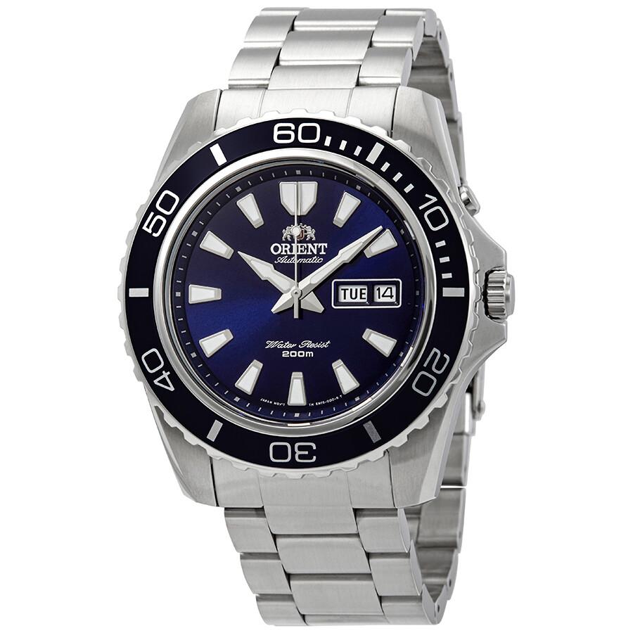 Orient Mako XL Automatic Blue Dial Men's Watch FEM75002DR ...