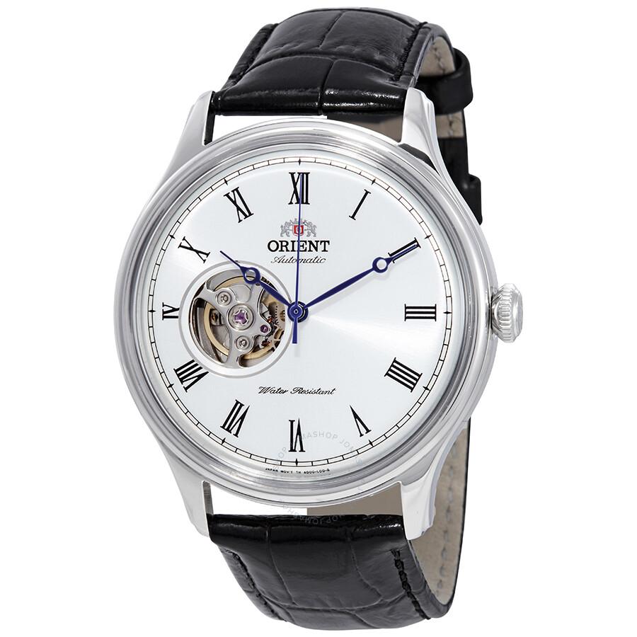 Orient Open Heart Automatic White Dial Men's Watch ...