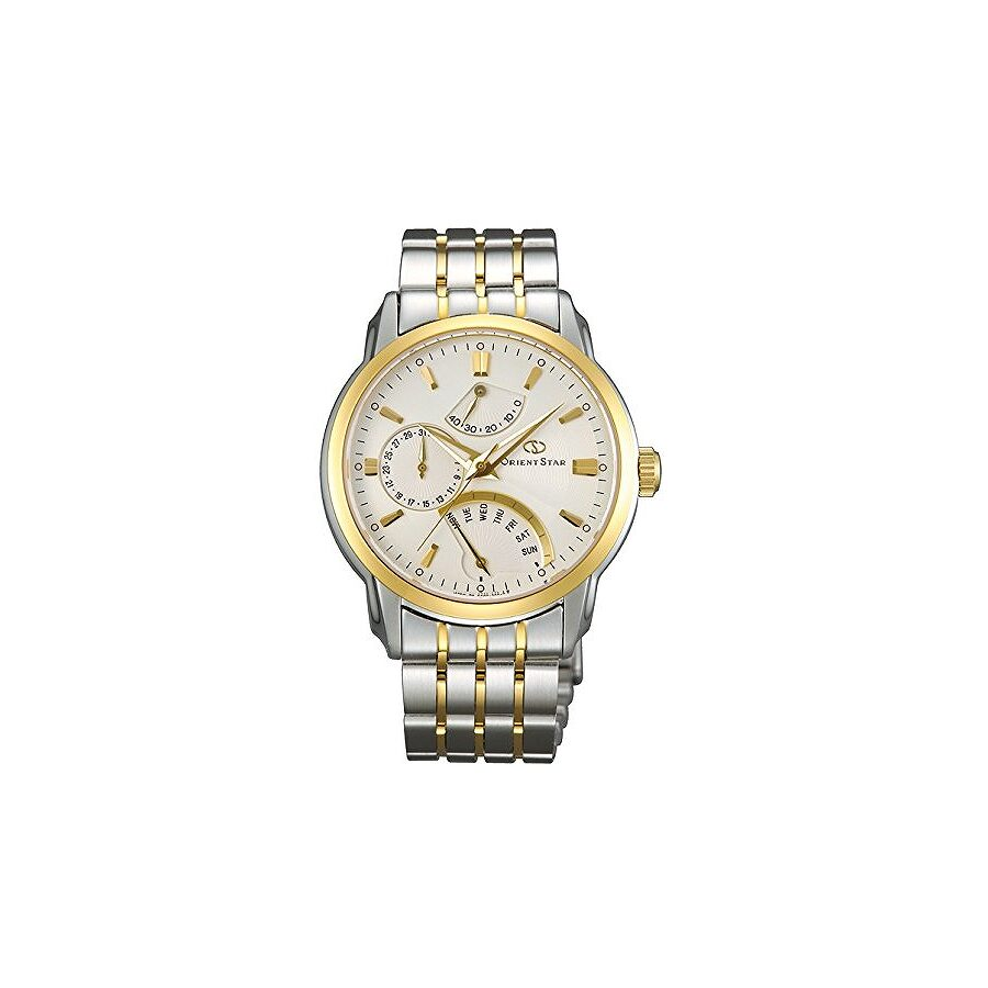 Orient Star Retrograde Automatic White Dial Mens Watch SDE00001W0