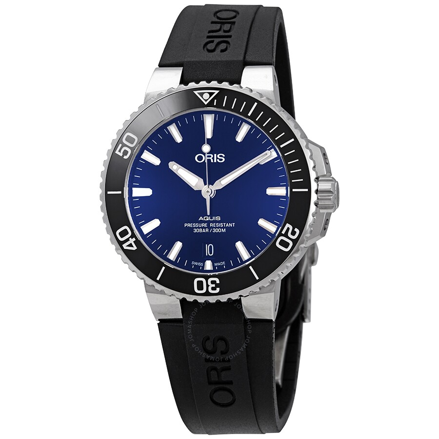 Oris Aquis Automatic Blue Dial Mens Watch 01 733 7732 4135-07 4 21 64FC