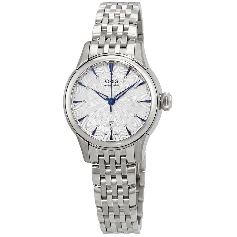 Oris Artelier Automatic Silver Dial Ladies Watch 561-7687-4031MB