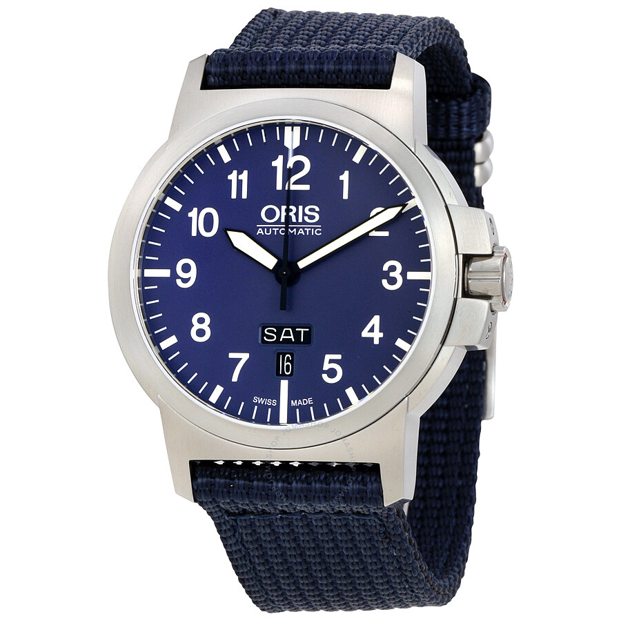 oris male oris bc3 advanced day date mens watch 01 735 7641 416507 5 22 26