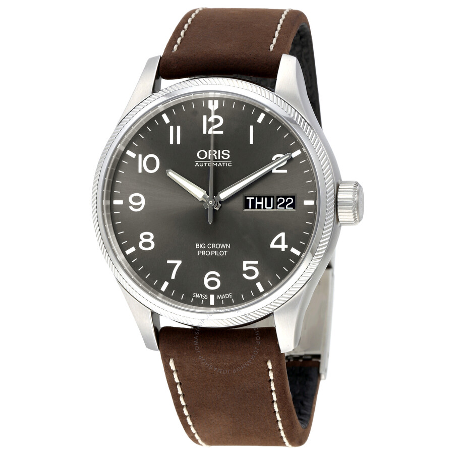watch b watches ref automatic man oris winding wrist photo luxe instant steel
