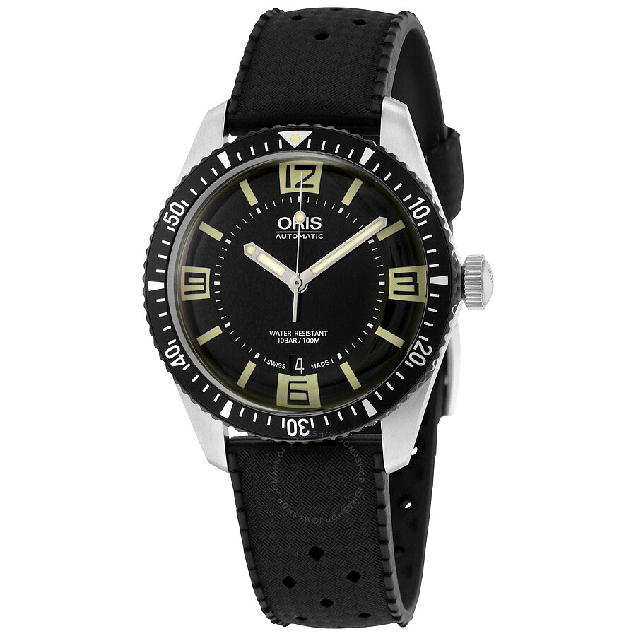 oris male oris divers heritage sixtyfive automatic mens watch 73377074064rs