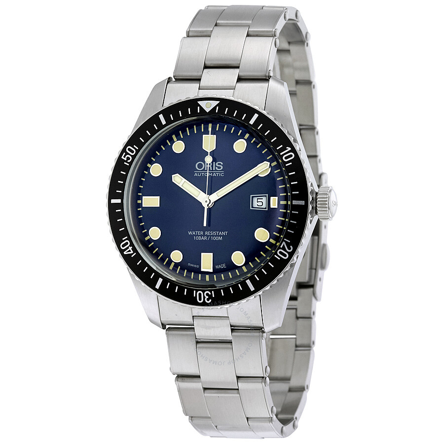 oris male oris divers sixtyfive automatic mens watch 01 733 7720 405507 8 21 18