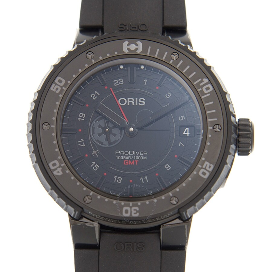 Oris DIVING Black Dial Unisex Watch 01 748 7748 7784-SET