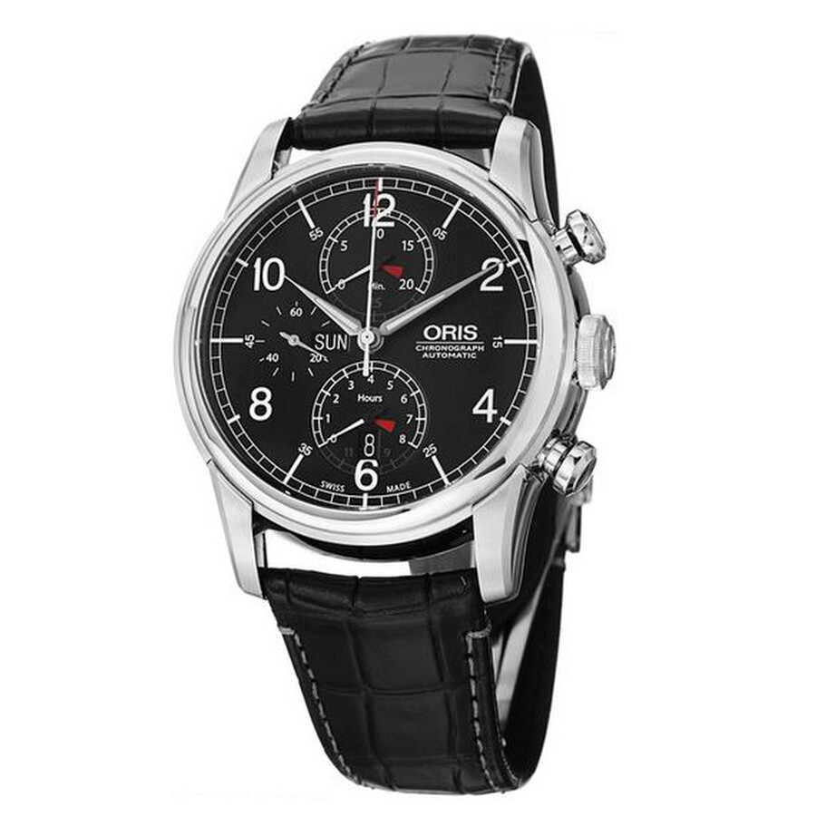 Oris Raid Automatic Chronograph Limited Edition Mens Watch 775-7686-4084SET