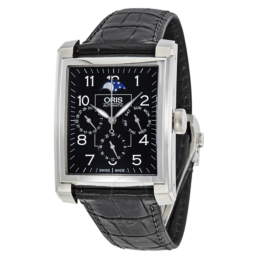 tq peugeot rectangular watch black products watches leather