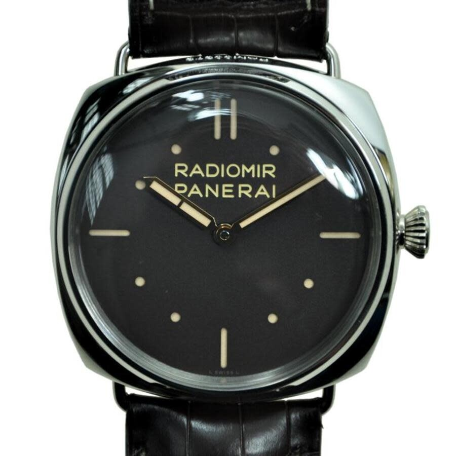 Panerai Radiomir Three Days Platino Manual Wind Platinum Mens Watch PAM00373