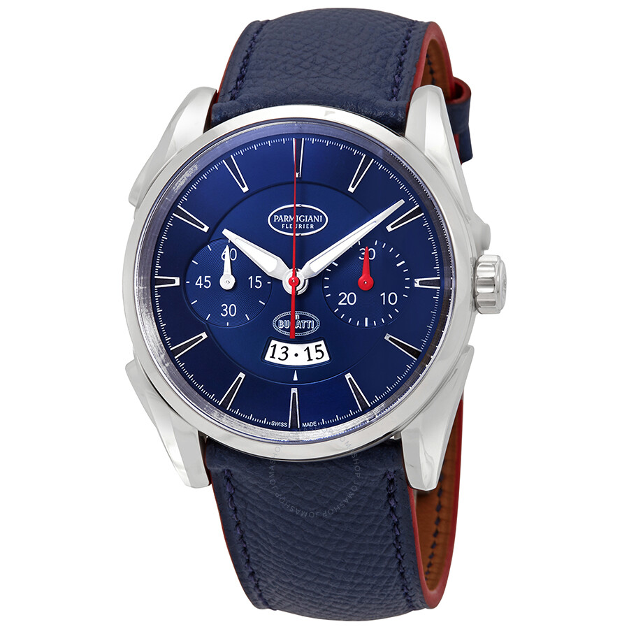 Parmigiani Fleurier Bugatti Aerolithe Chronograph Automatic Mens Watch PFC32..