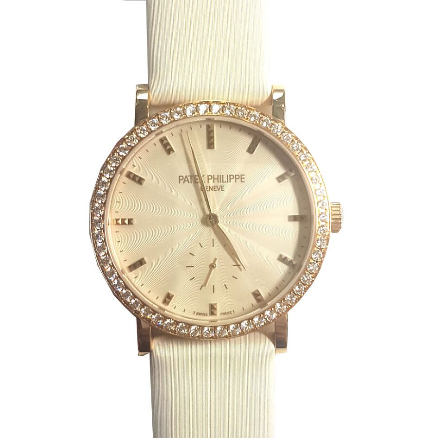 Patek Philippe Calatrava Ladies Hand Wound Watch 7120R-001