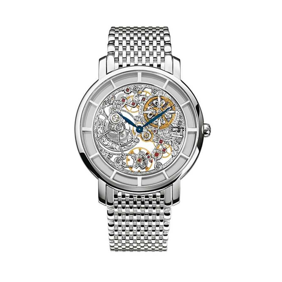 Patek Philippe Complications Automatic Skeleton Gold Mens Watch 5180 / 1G
