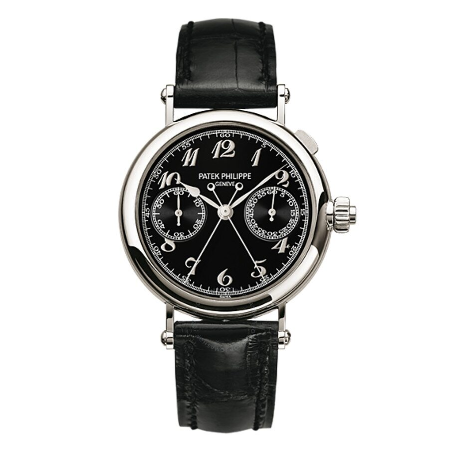 Patek Philippe Complications BlackDial Unisex Watch 5959P011