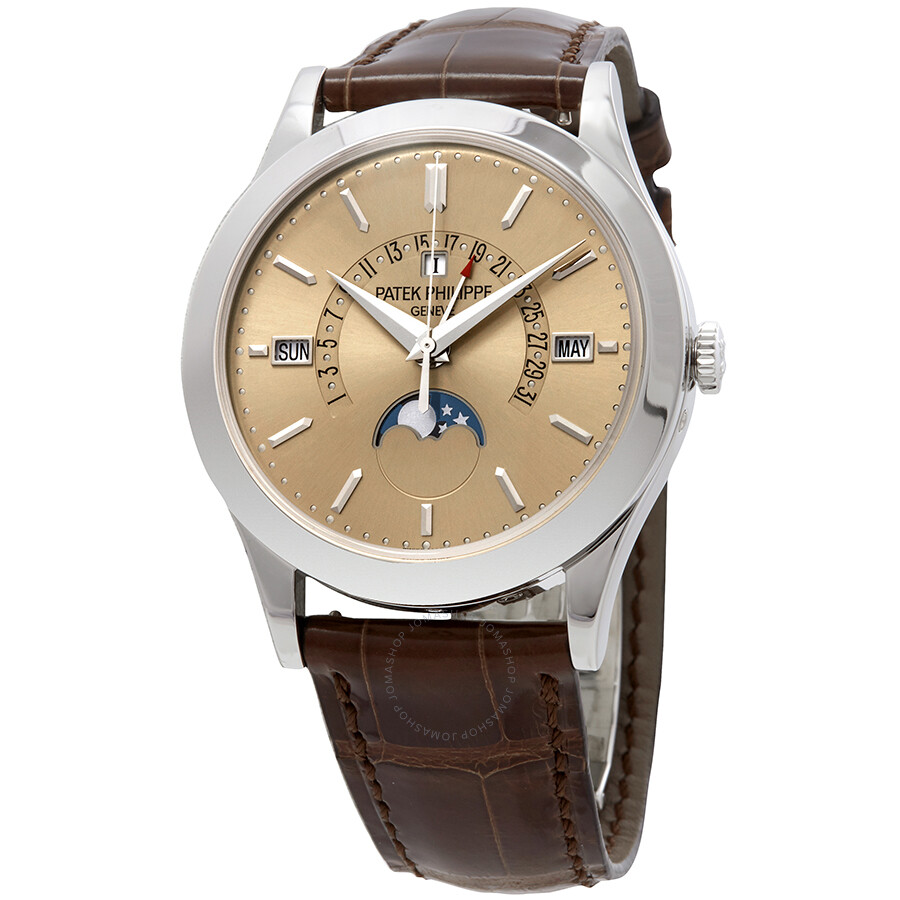 Patek Philippe Grand Complications Automatic Prepetual Calendar Mens Watch 5..