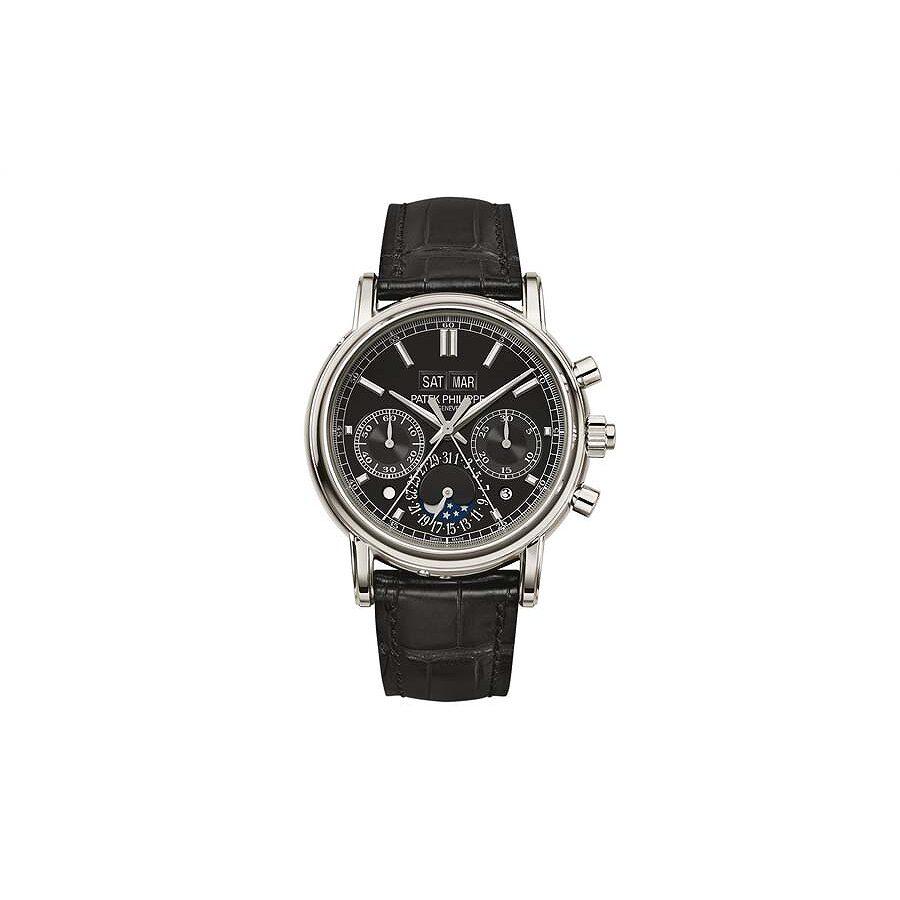 Patek Philippe Grand Complications Mens Hand Wound Perpetual Calendar Watch ..