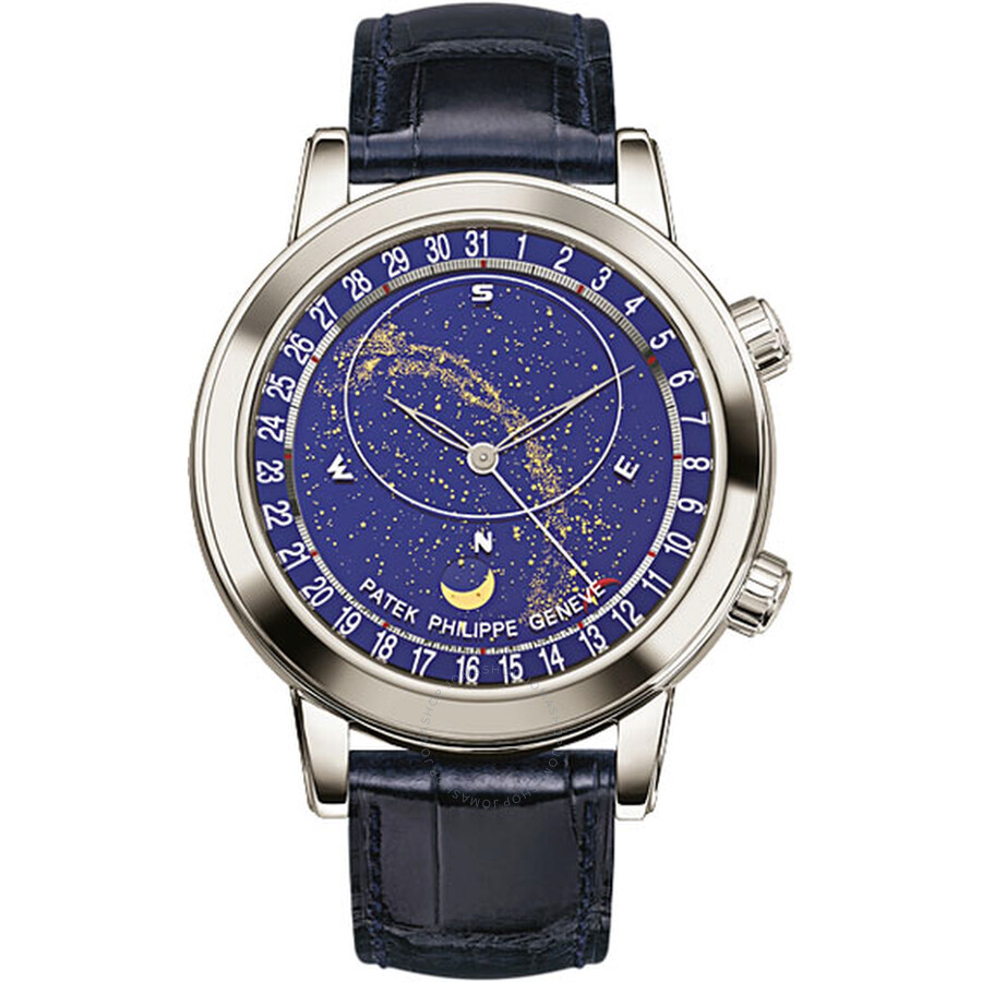 Patek Philippe Grand Complications Platinum Mens Watch 6102P-001