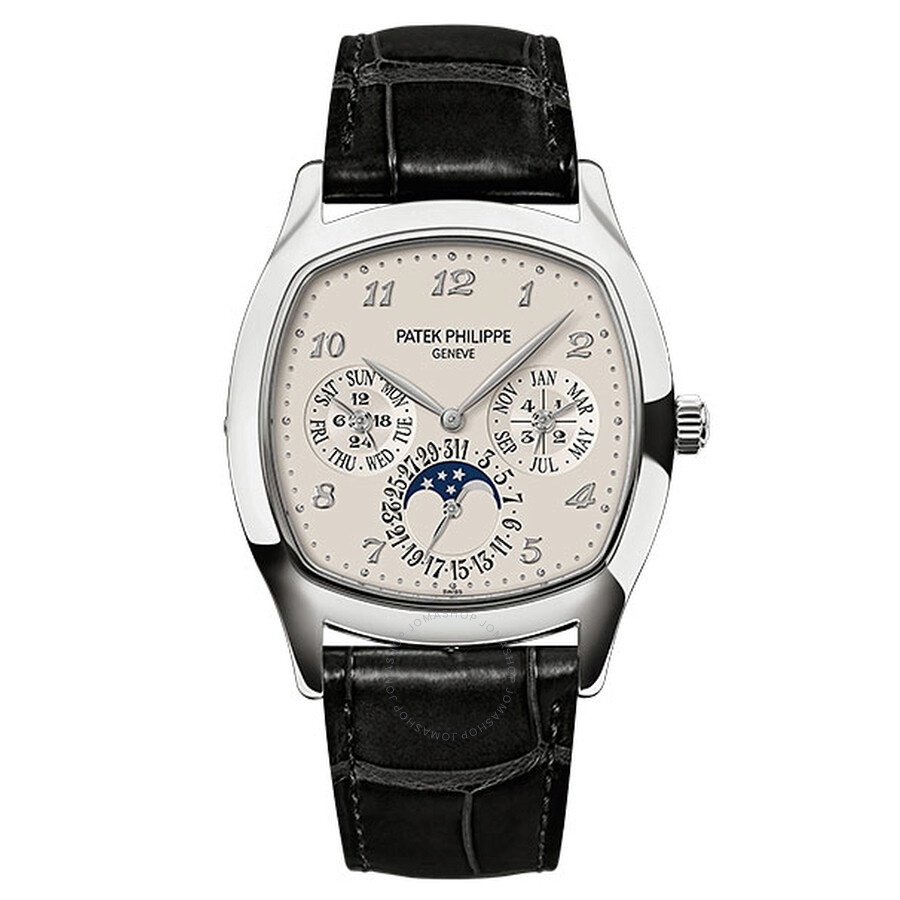 Patek Philippe Grand Complications Silver Dial Automatic Mens Watch 5940G-001