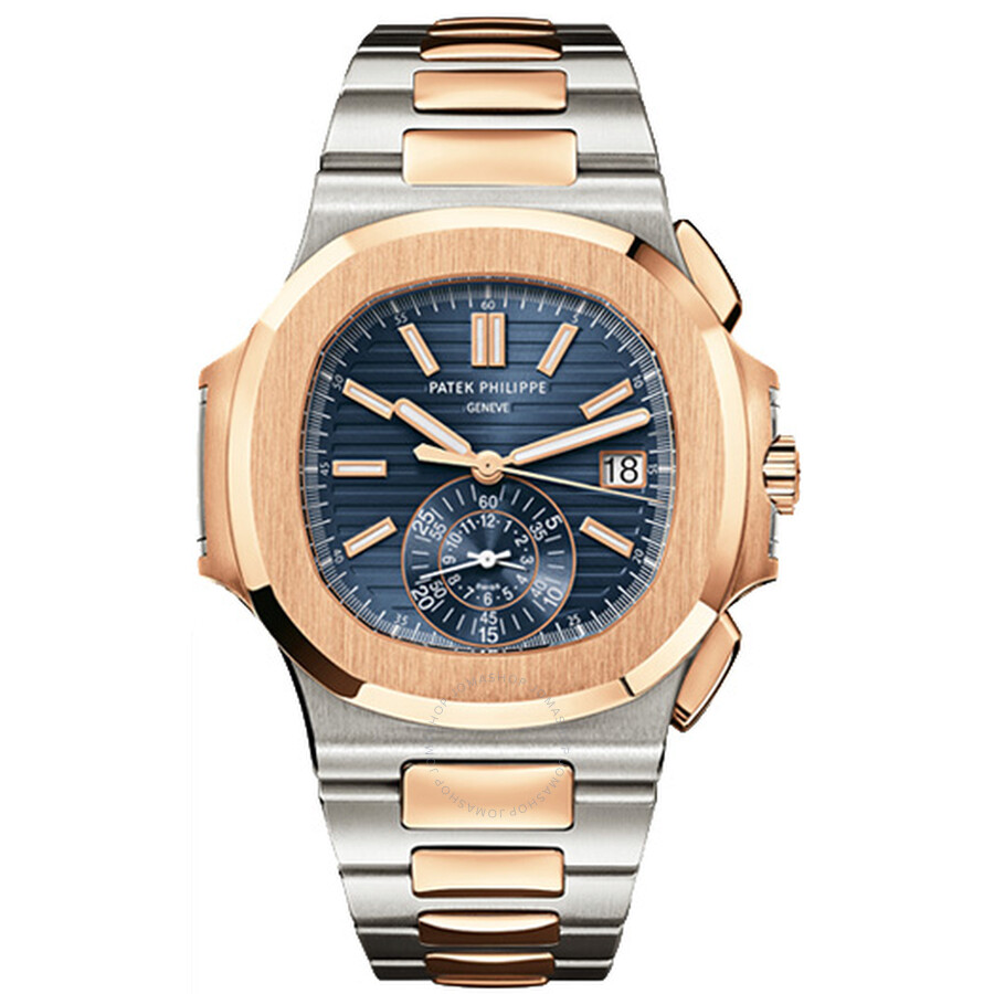 Patek Philippe Nautilus Mechanical Blue Dial Mens Watch 5980/1AR