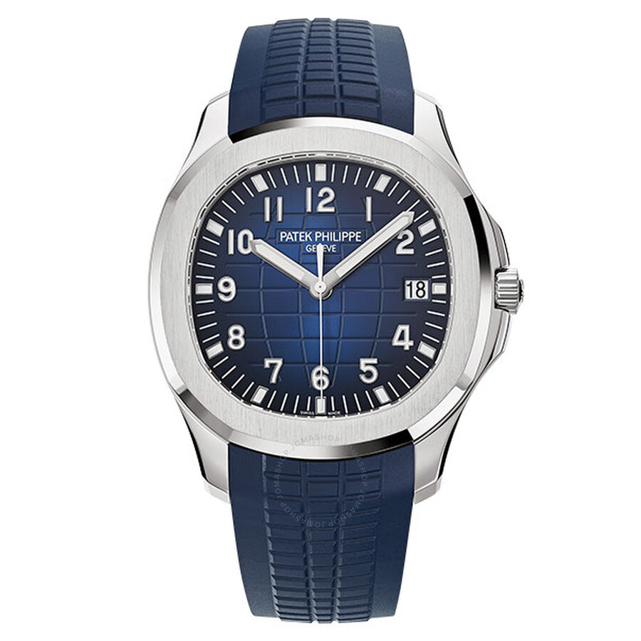 Patek Philippe Patek Aquanaut Blue Dial Automatic Mens Watch 5168G-001