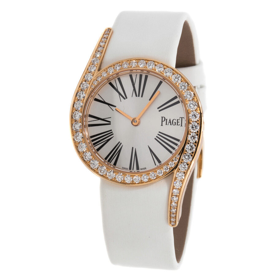 woman quartz b instant luxe lady watch diamants ref piaget wrist watches leather photo