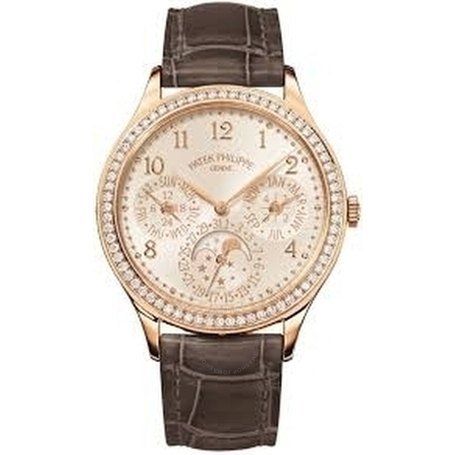 Patek Philippe Grand Complications White Opaline Dial Automatic Ladies Perpe..