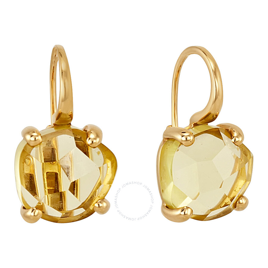 Pomellato 18kt Yellow Gold Citrine Earrings 852823