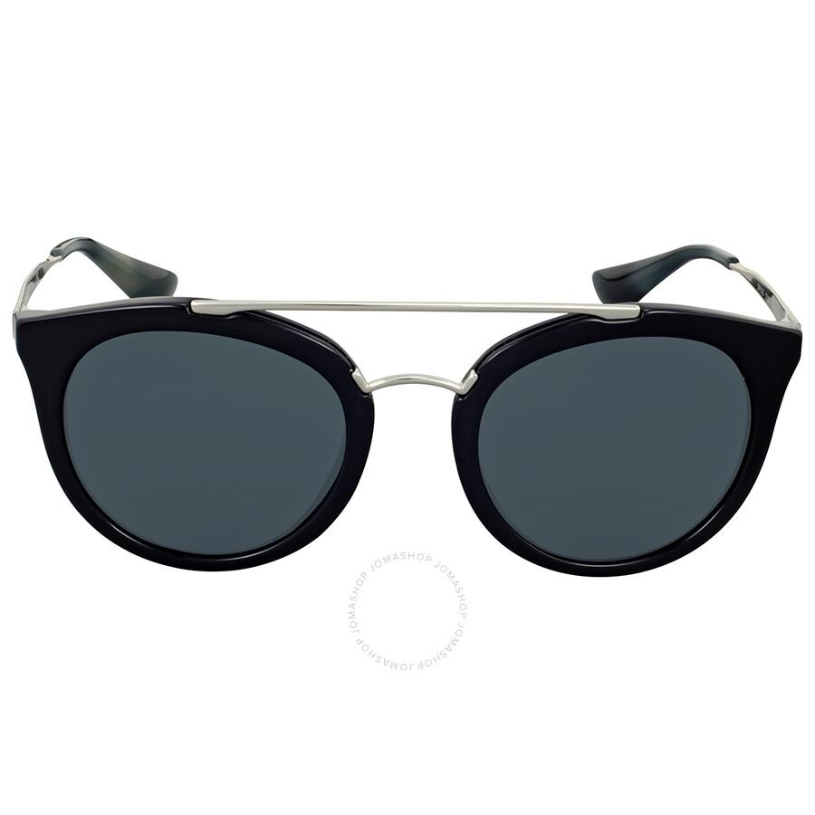 Prada Aviator Cat Eye Grey Lens Sunglasses - Prada - Sunglasses ...