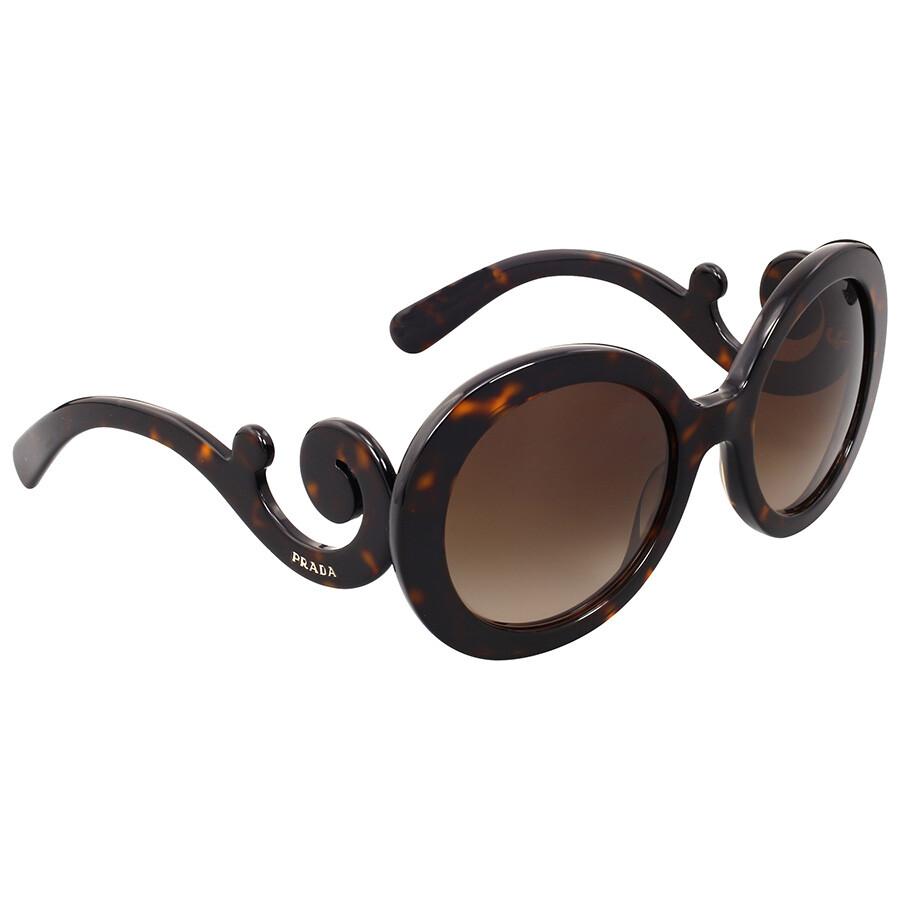 67bef6faacd1c ... where can i buy prada baroque round brown sunglasses prada baroque  round brown sunglasses ed355 6fcb6