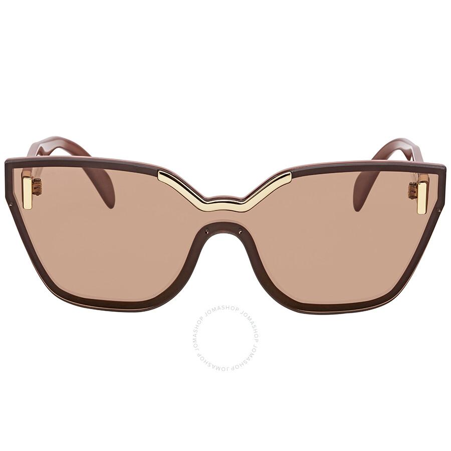 b9eaefcdc ... aliexpress prada brown cat eye sunglasses pr 16ts zxb1p1 48 9dff7 de1be
