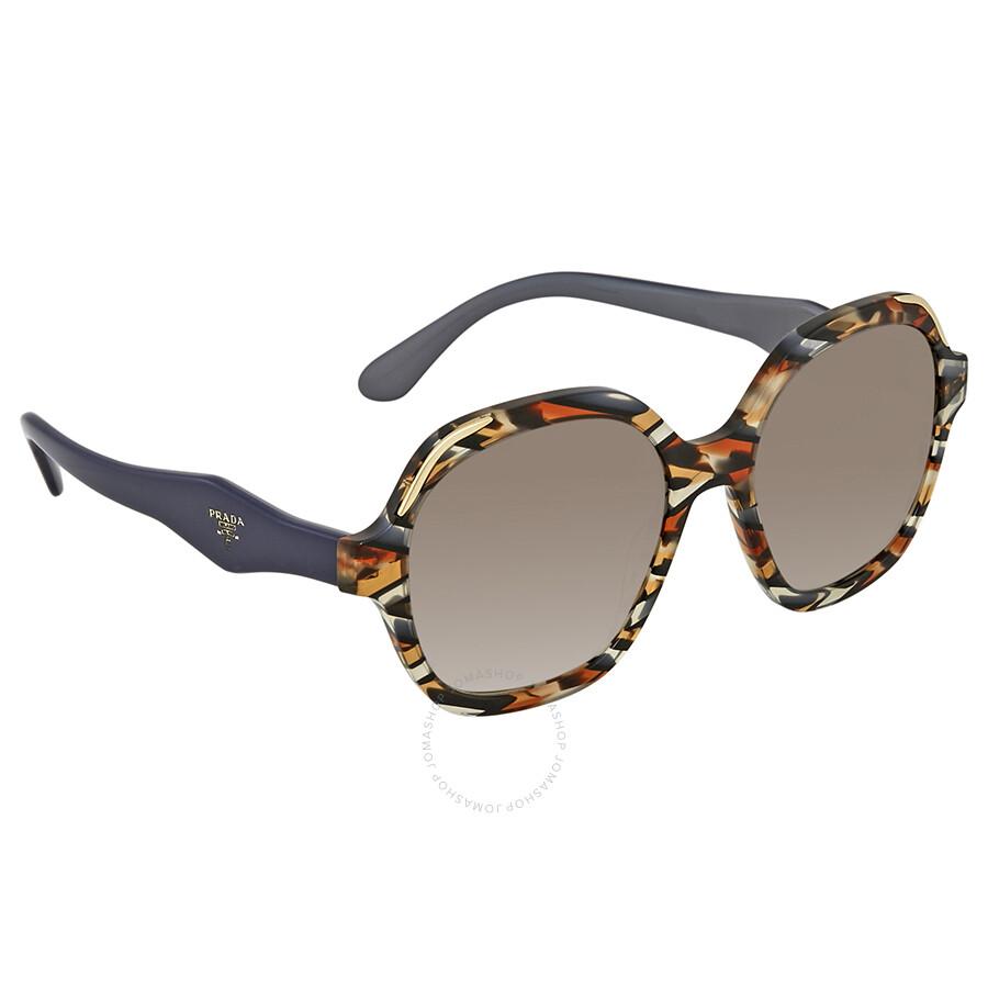 38b90558bc7ac ... ireland prada brown gradient square sunglasses pr 06us co56s1 52 edae8  afa8d
