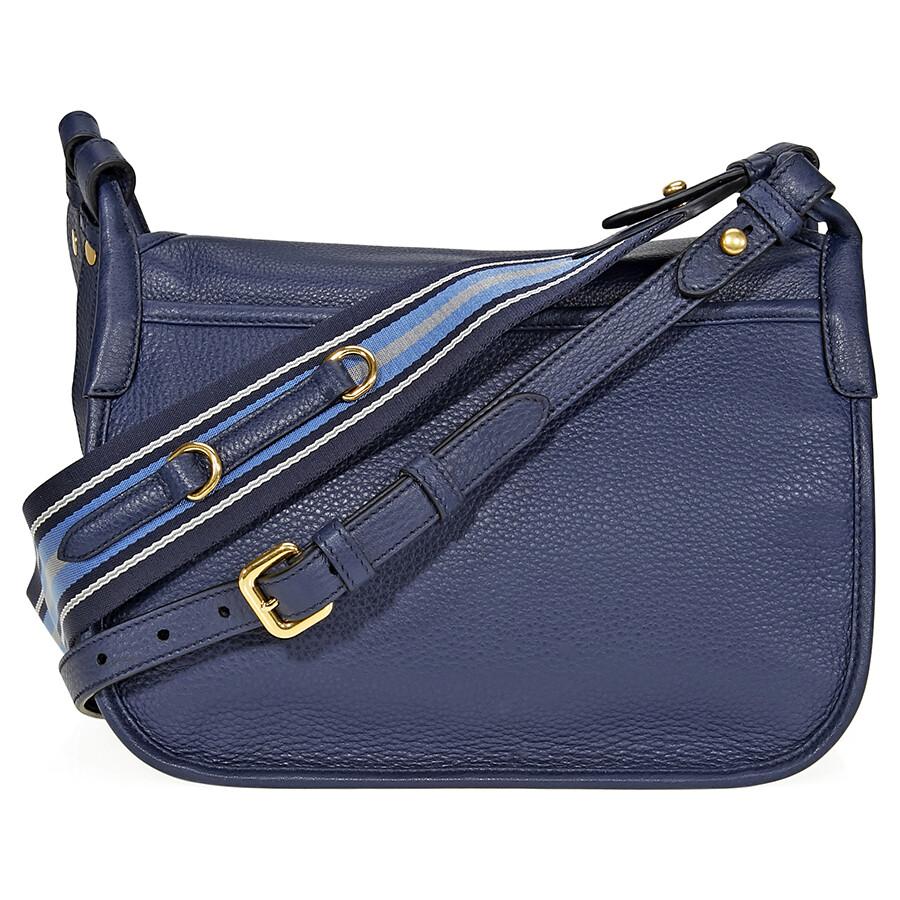 c6749fb486b3 ... sweden prada calfskin leather shoulder bag blue c847b 6b753