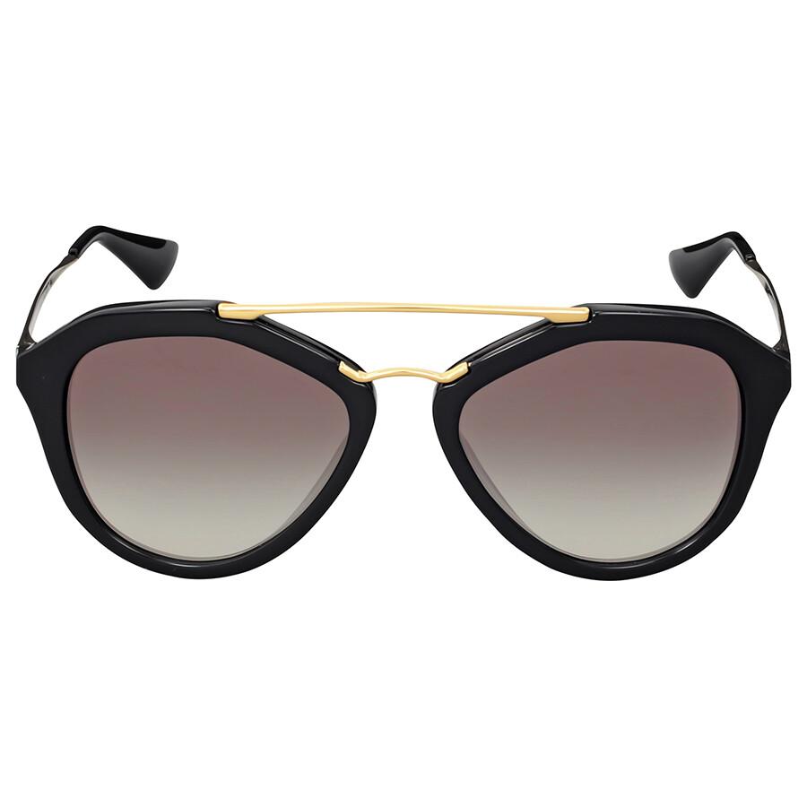 0bc6d2a00a1 ... low price prada cinema grey gradient round sunglasses d726b a3425