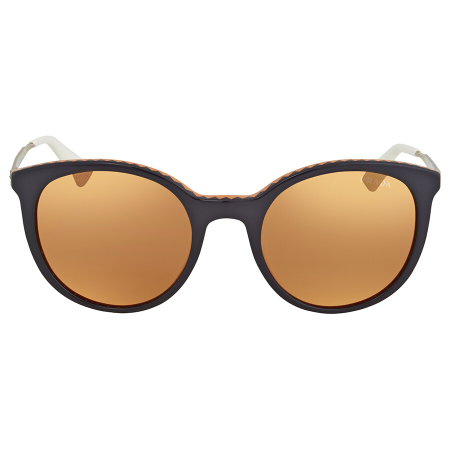 Prada PR17SS Sonnenbrille Violett / Orange VH56T0 53mm TGge743gOx