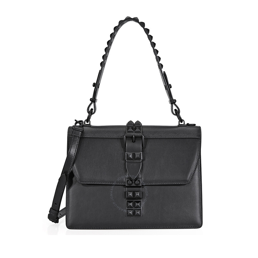 0a37c1a9e4ec ... inexpensive prada elektra studded leather shoulder bag black 83db0 660ff