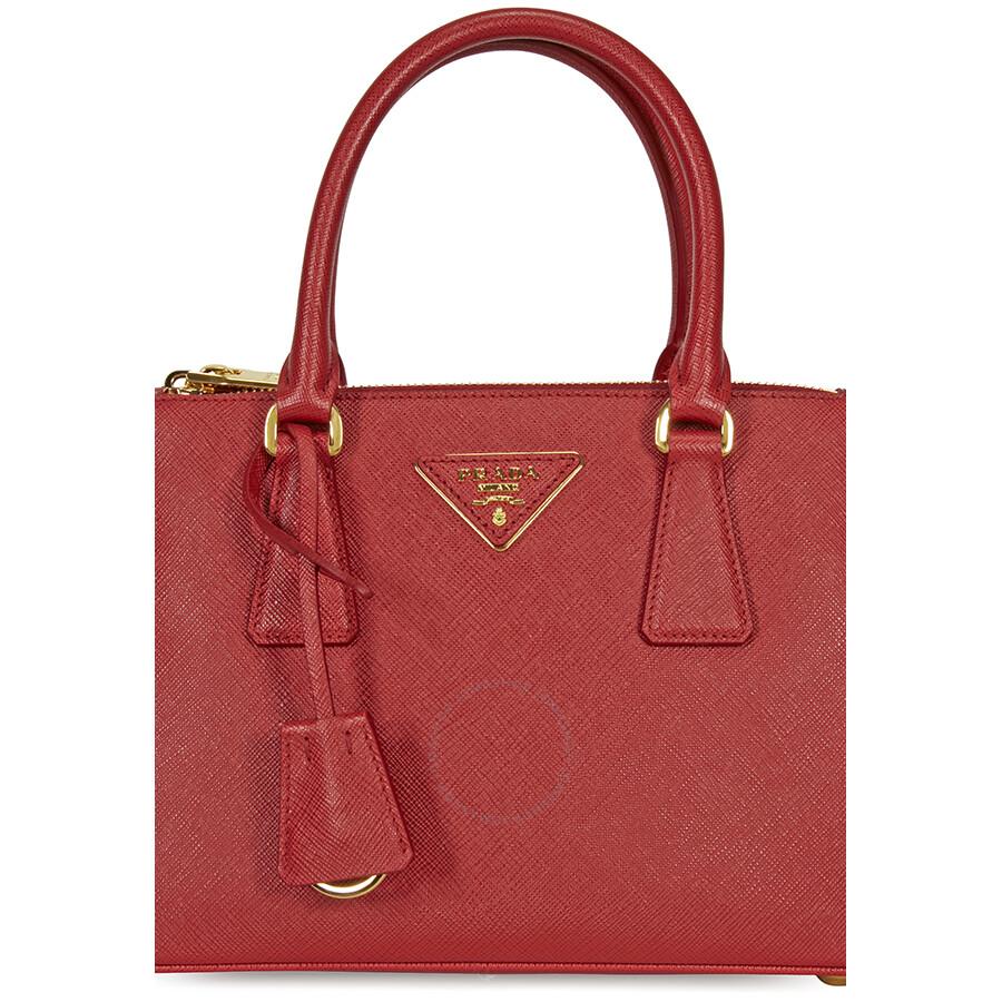 ireland prada saffiano lux double zip tote bag light pink mughetto 3ed64  81f09  australia prada galleria saffiano leather tote fuoco b3d81 ed2c8 752edddb94aef